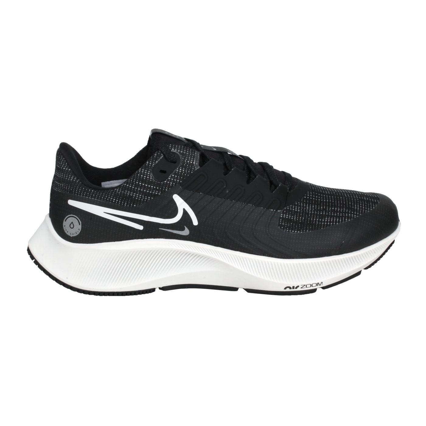 NIKE 男款慢跑運動鞋   @AIR ZOOM PEGASUS 38 SHIELD@DC4073-001 - 灰黑白