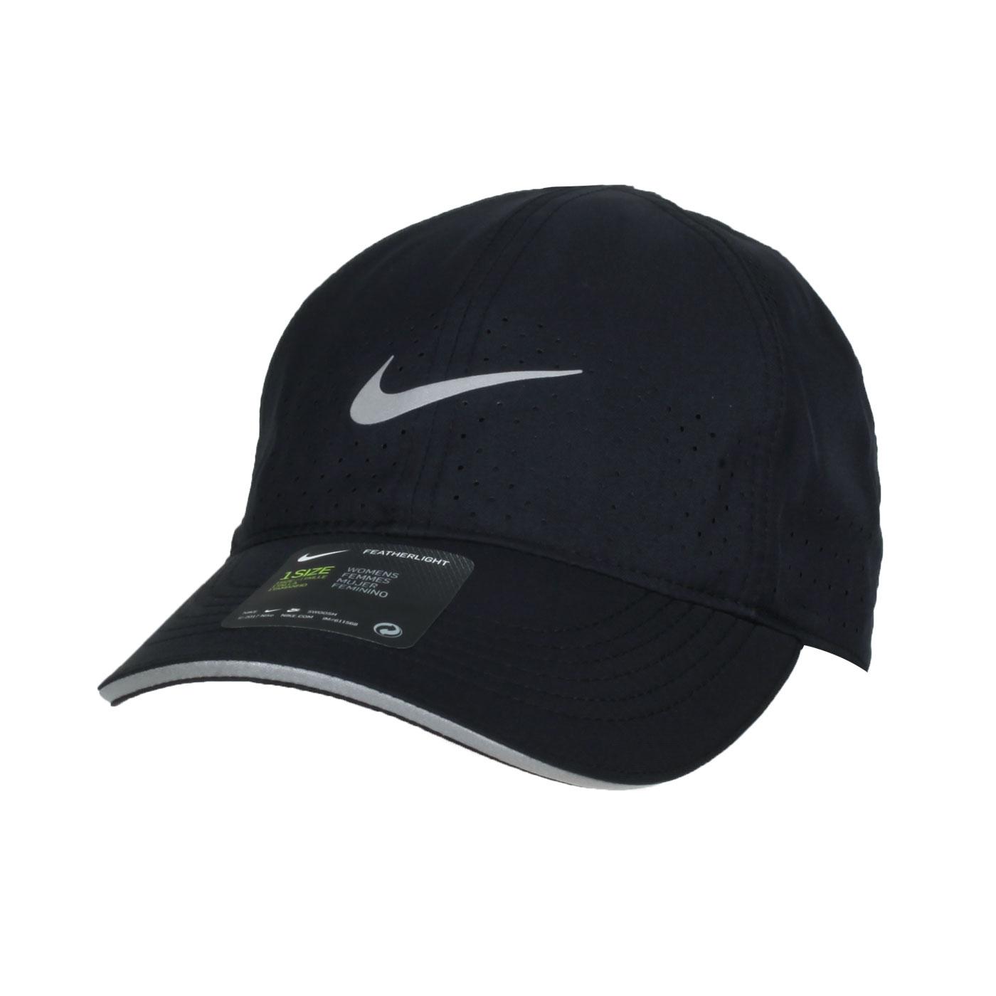 NIKE 運動帽 DC4090-010 - 黑銀