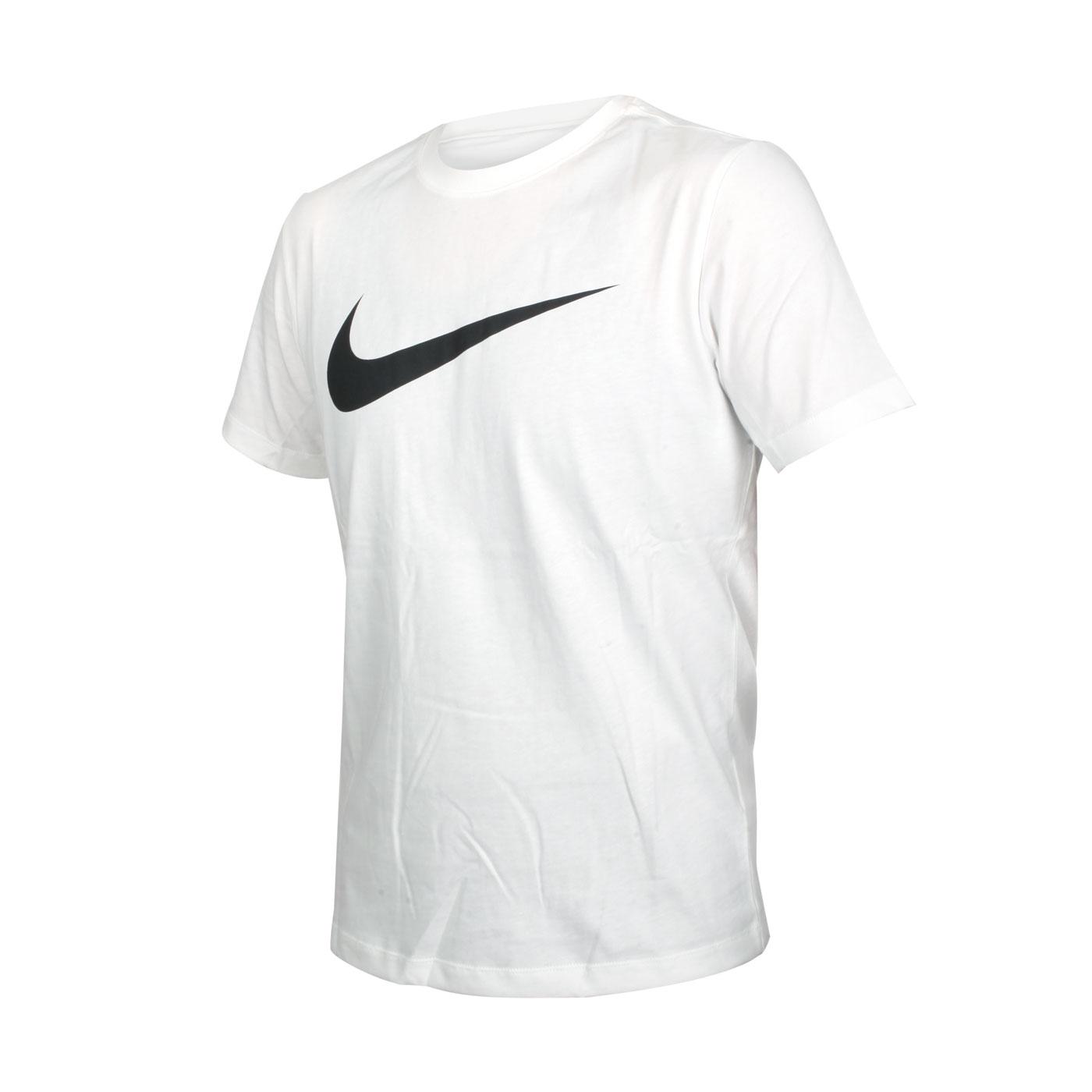 NIKE 男款短袖T恤 DC5095-100 - 白黑