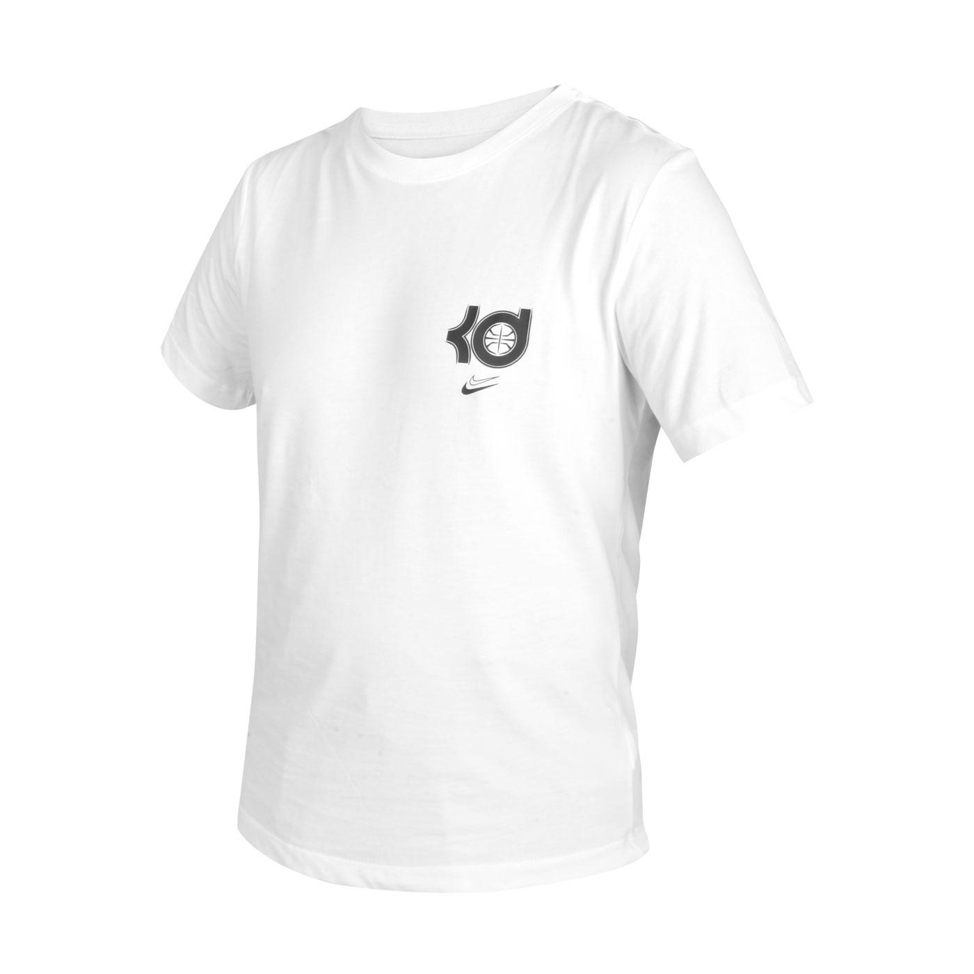 NIKE 男款短袖T恤 DD0776-100 - 白黑