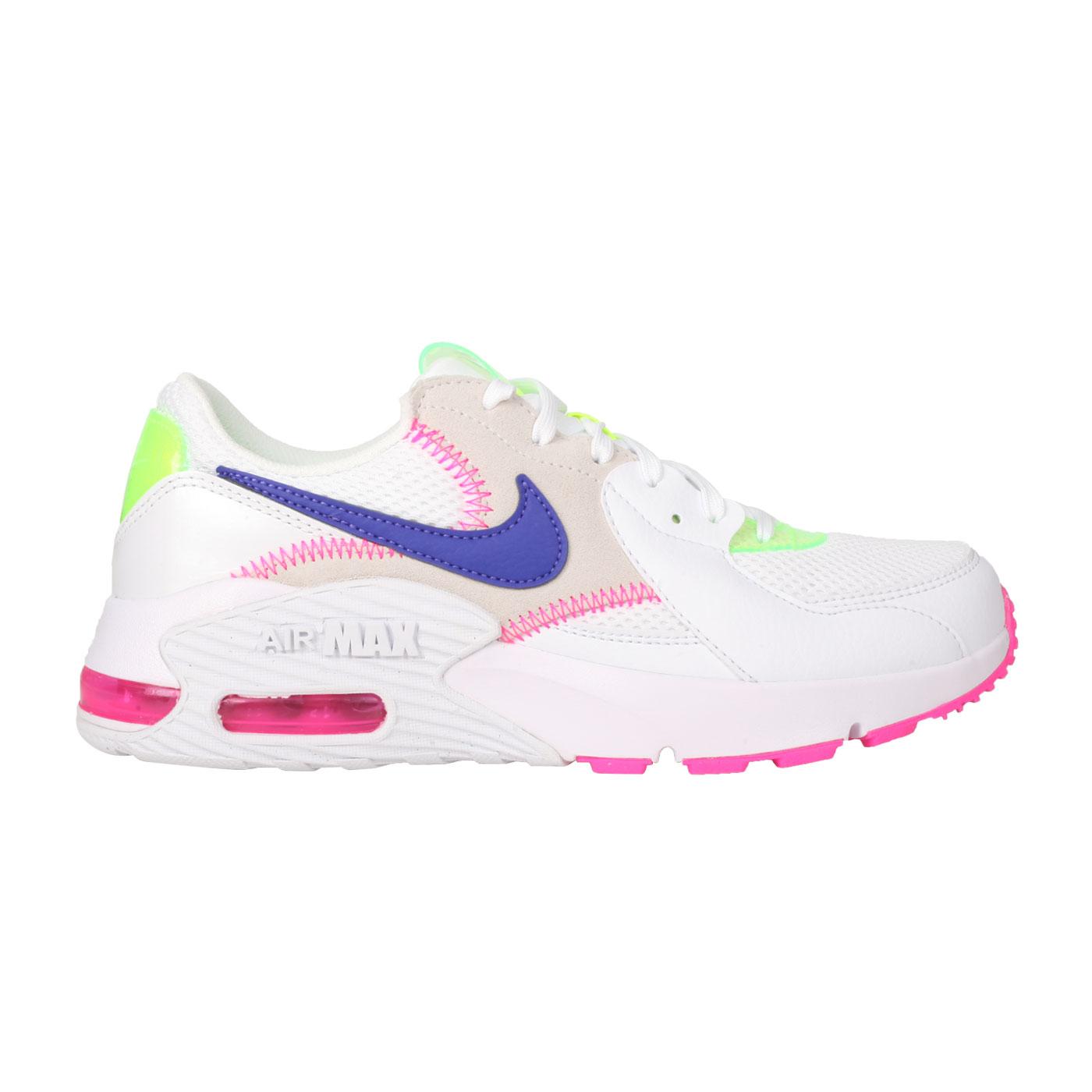 NIKE 女款運動休閒鞋  @WMNS AIR MAX EXCEE AMD@DD2955100 - 白粉藍綠