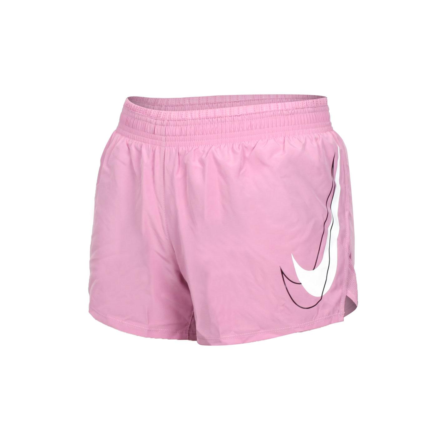 NIKE 女款運動短褲 DD4924-630 - 粉紅白