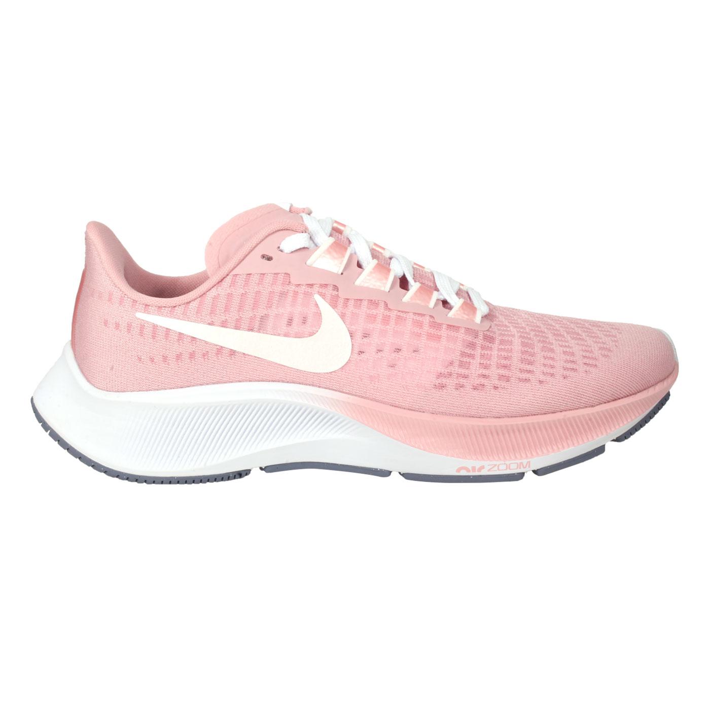 NIKE 女款慢跑鞋  @WMNS AIR ZOOM PEGASUS 37@DH0129600 - 粉紅白