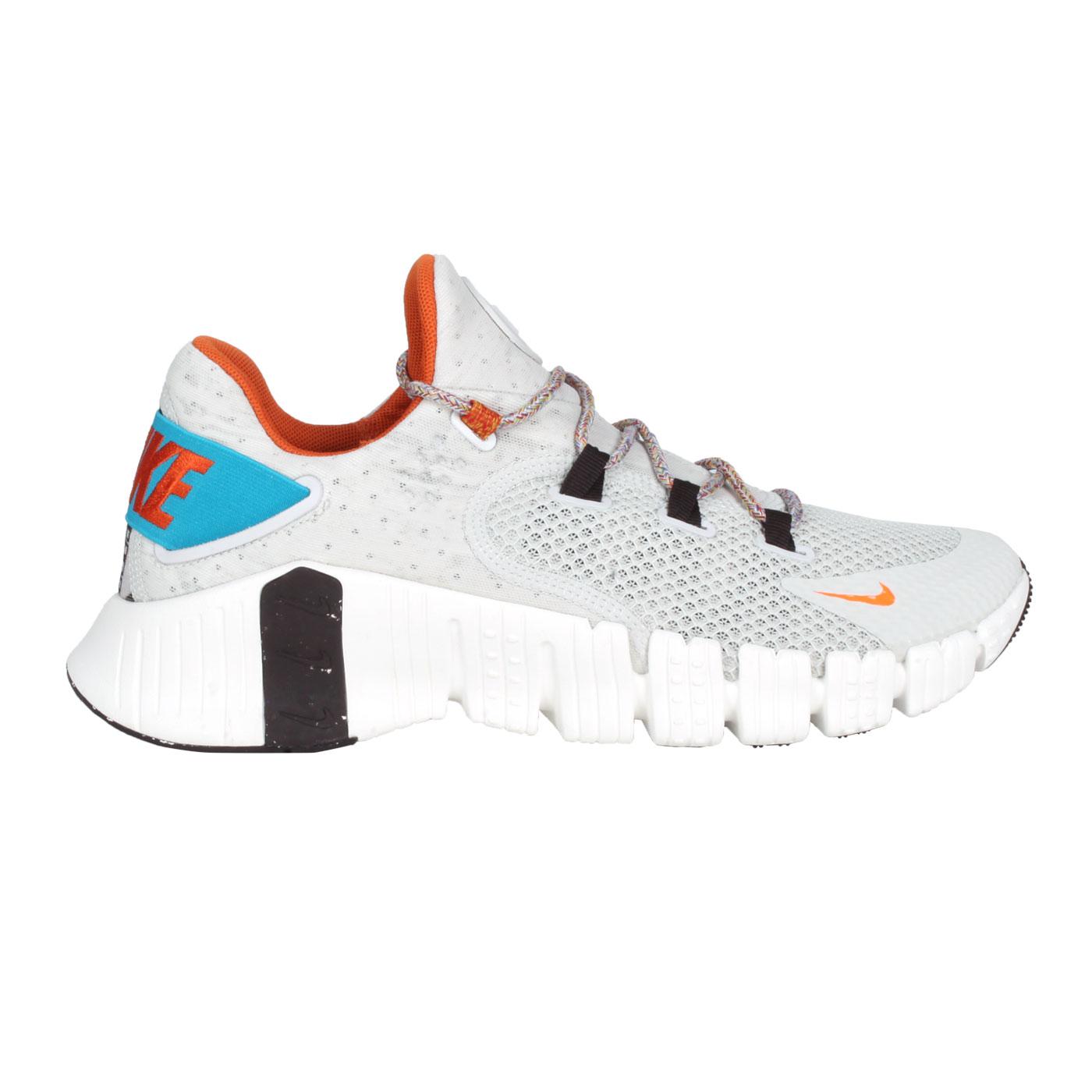 NIKE 男款訓練鞋  @FREE METCON 4 MFS@DH2726-091 - 淺灰深橘藍