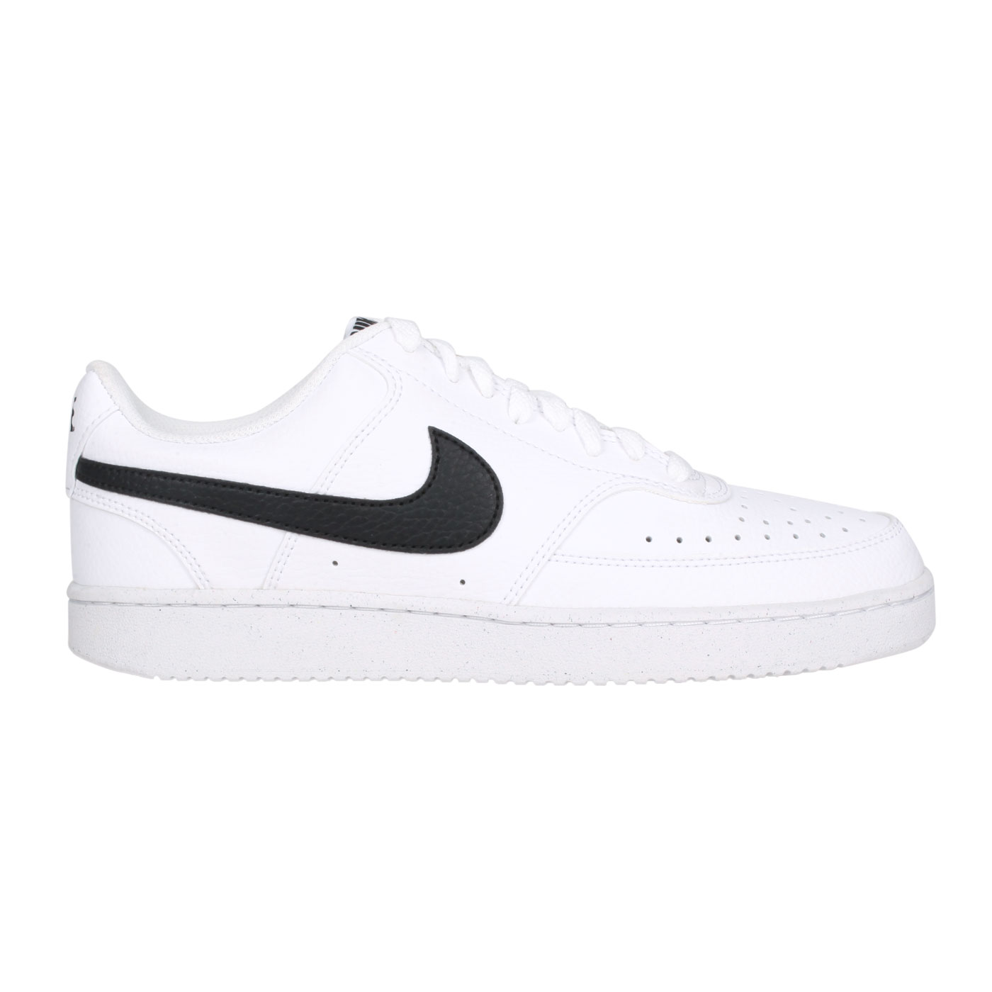 NIKE 男女休閒運動鞋  @COURT VISION LO NN@DH2987-101 - 白黑