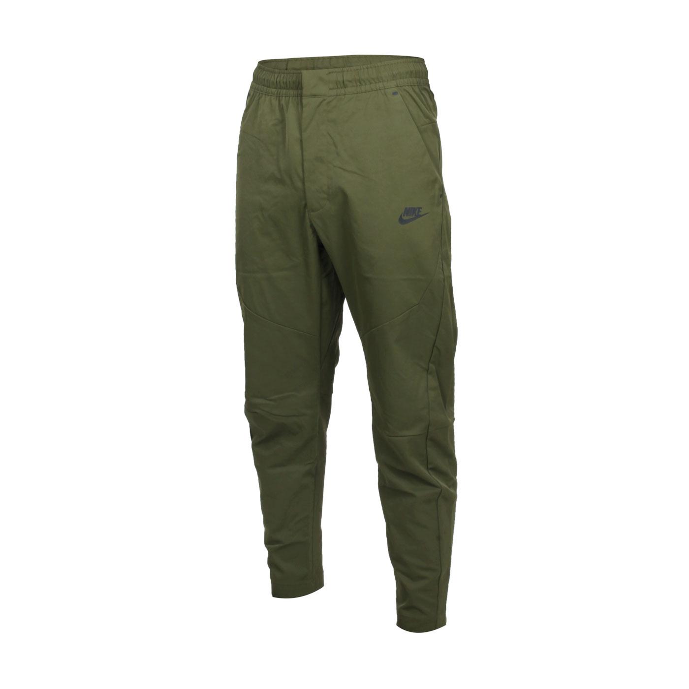 NIKE 男款休閒長褲 DH4225-326 - 軍綠黑