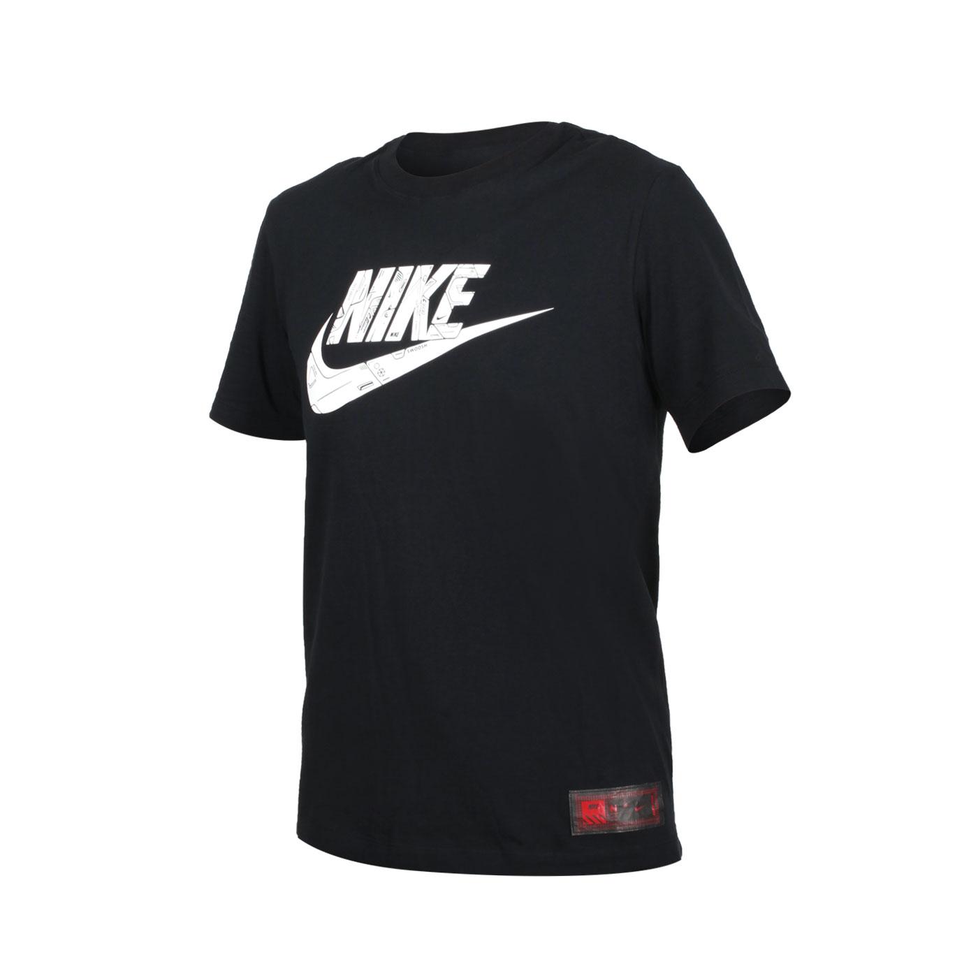 NIKE 男款短袖T恤 DJ1396-010 - 黑白紅