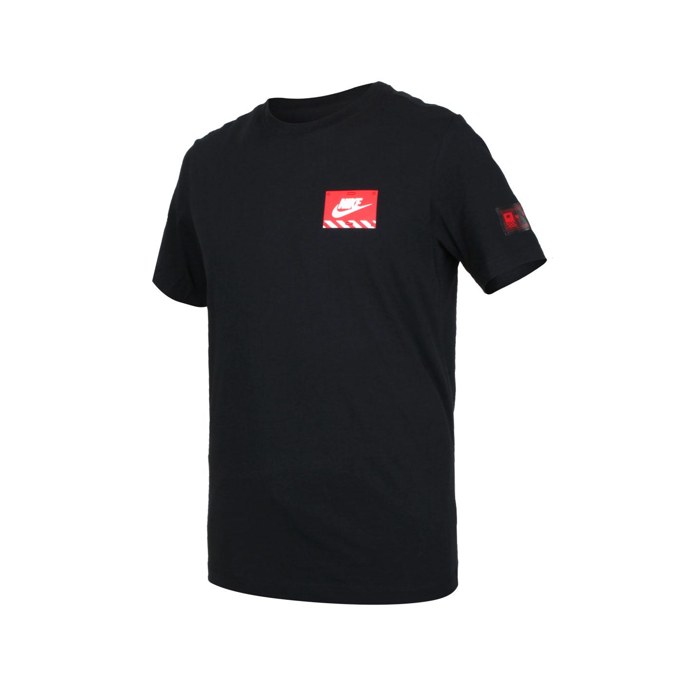 NIKE 男款短袖T恤 DJ1398-010 - 黑紅白