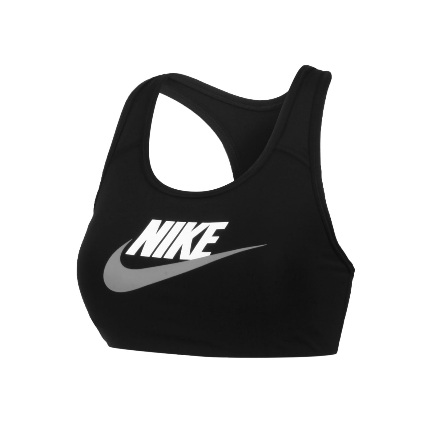 NIKE 女款運動內衣 DM0580-010 - 黑白