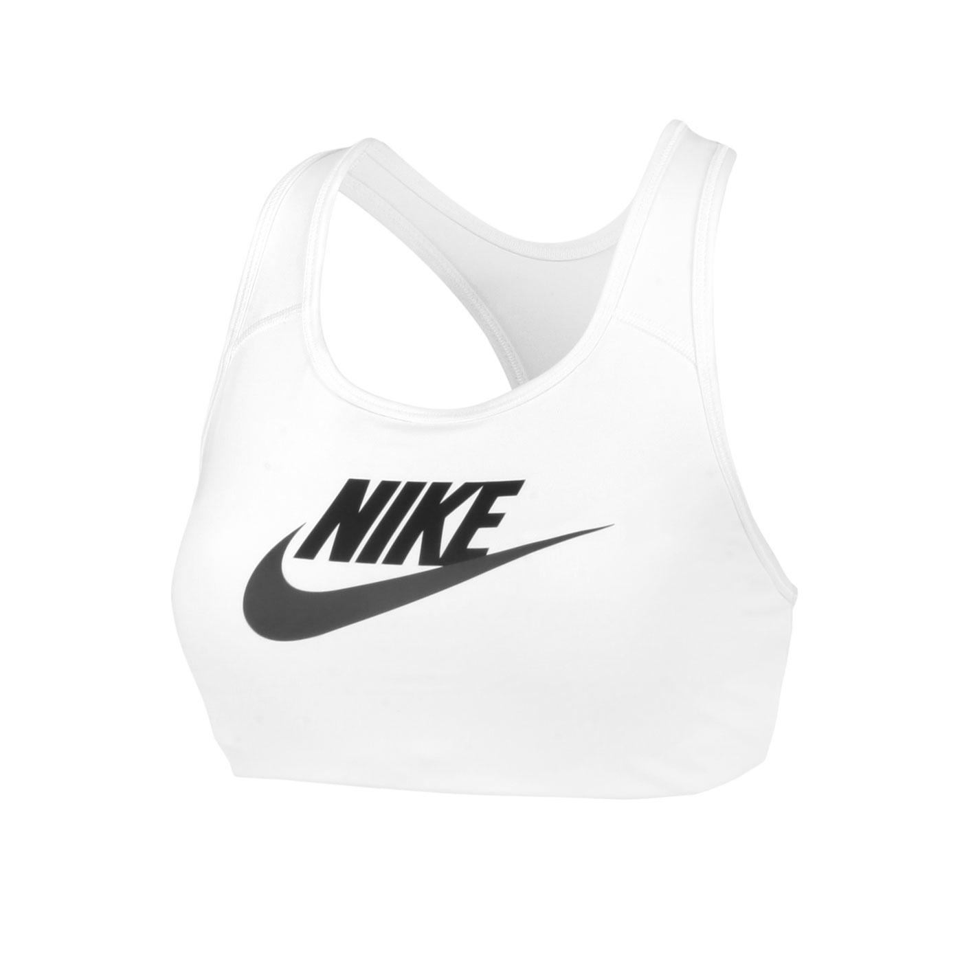 NIKE 女款運動內衣 DM0580-100 - 白黑