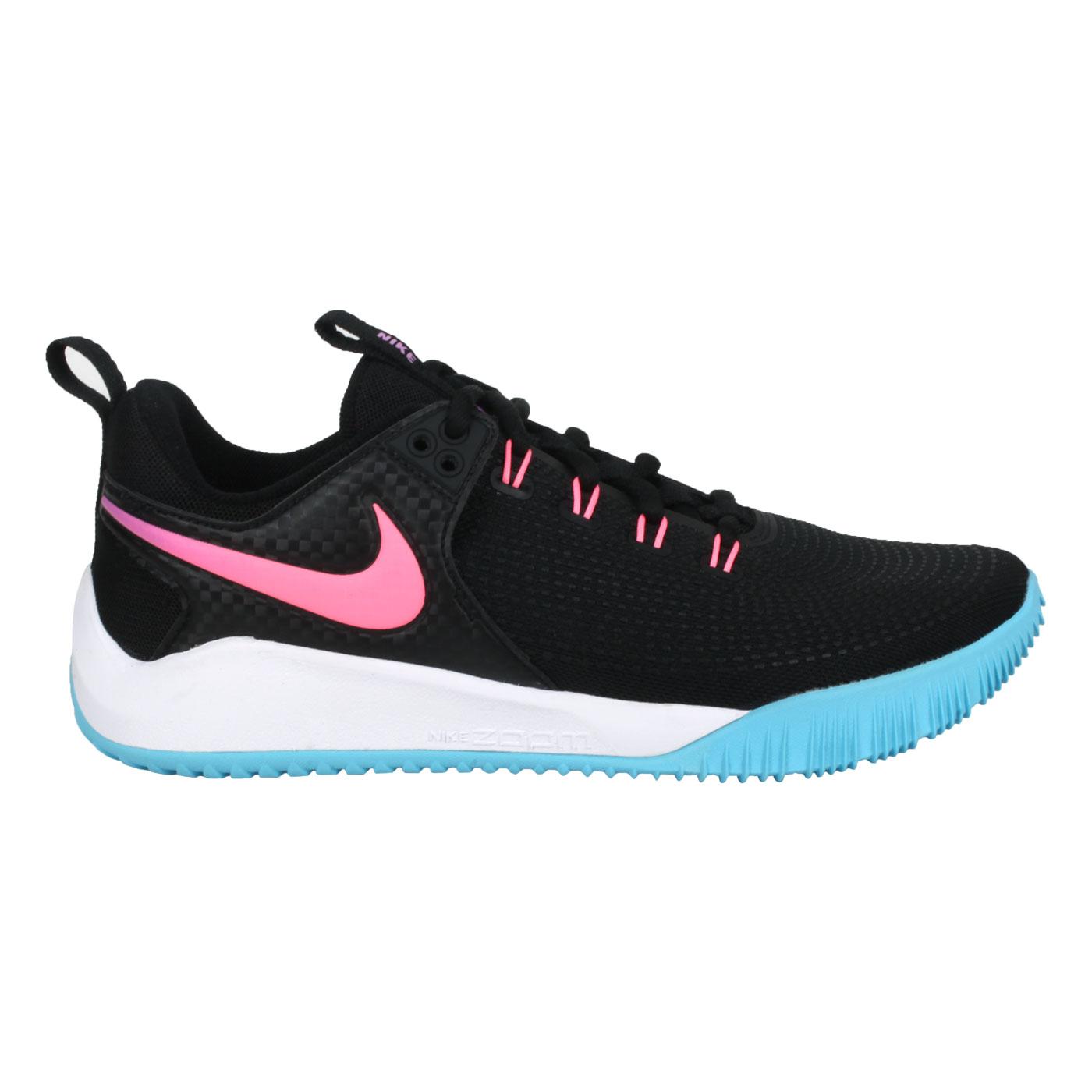 NIKE 男款排球鞋  @AIR ZOOM HYPERACE 2 SE@DM8199064 - 黑藍粉