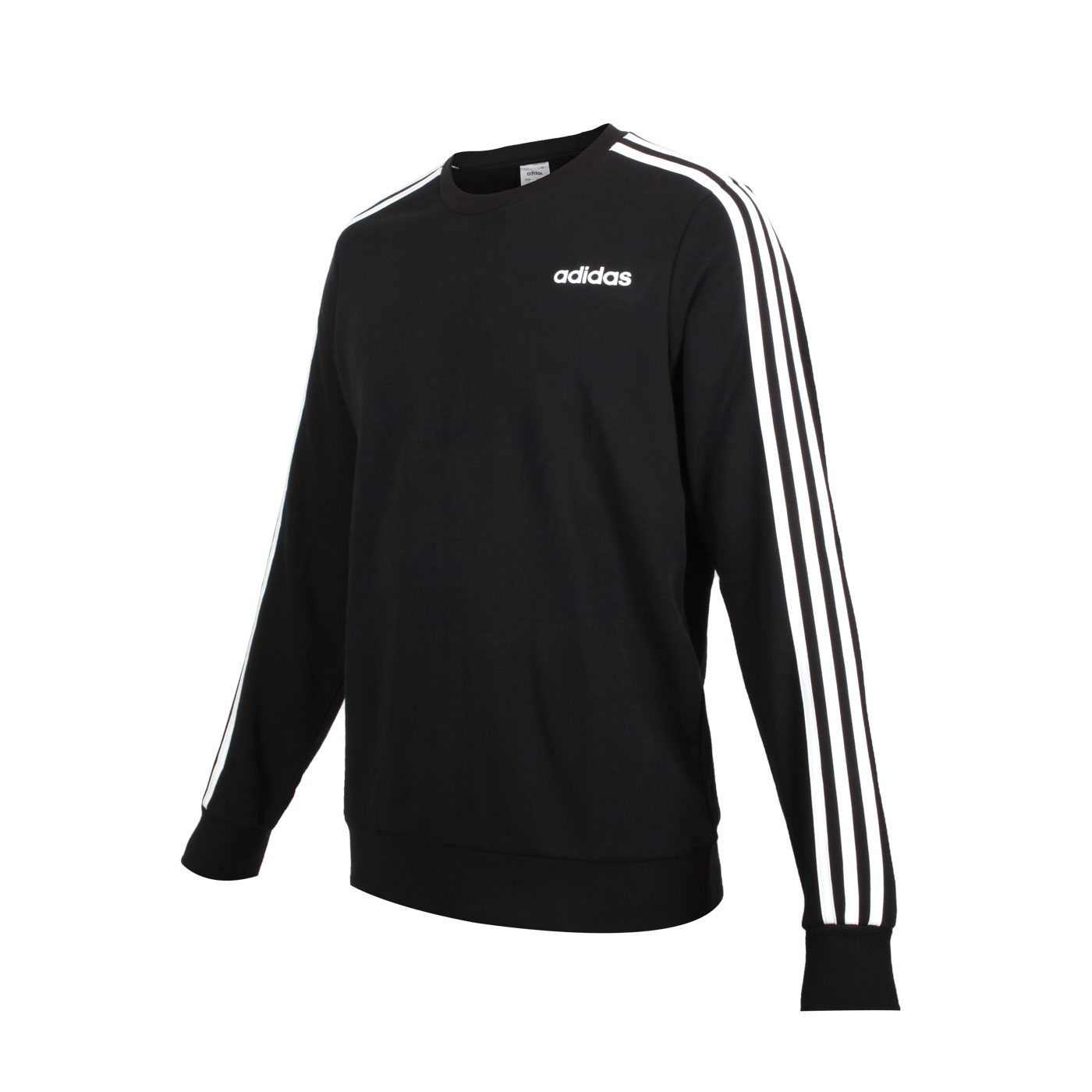 ADIDAS 男款長袖T恤 DQ3083 - 黑白