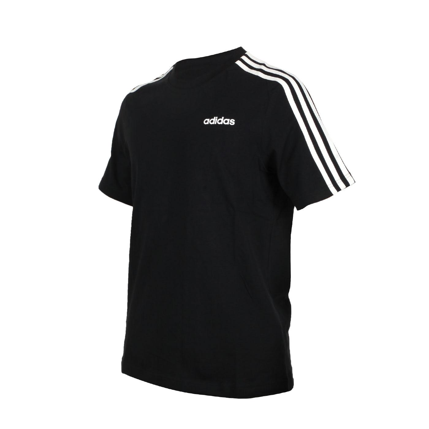 ADIDAS 男款短袖T恤 DQ3113 - 黑白