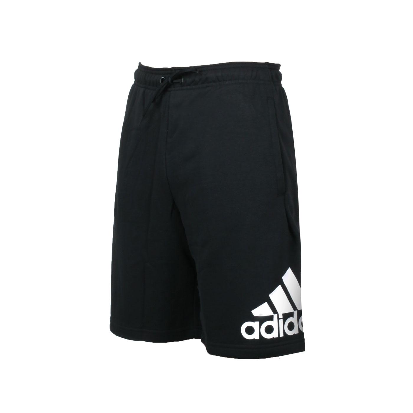 ADIDAS 男款運動短褲 DX7662 - 黑白