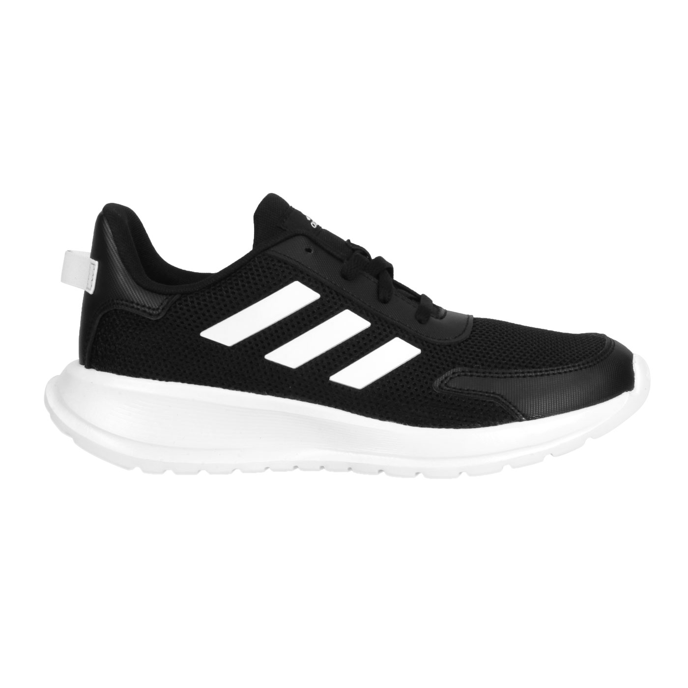 ADIDAS 大童慢跑鞋  @TENSAUR RUN K@EG4128 - 黑白