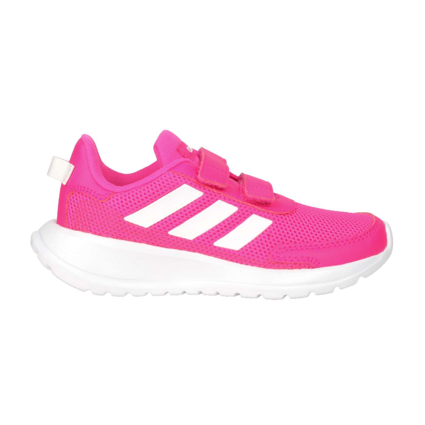 ADIDAS 中童慢跑鞋  @TENSAUR RUN C@EG4145 - 亮桃紅白