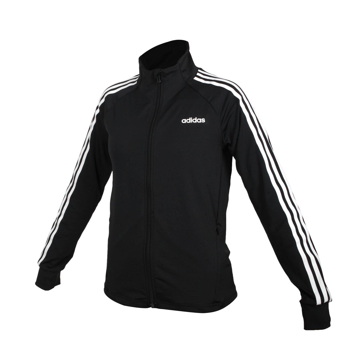 ADIDAS 女款長袖外套 EI5529 - 黑白