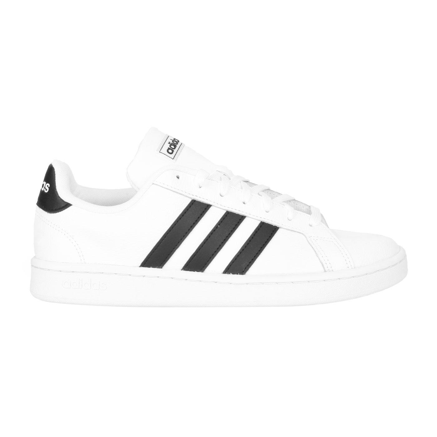 ADIDAS 男款休閒運動鞋  @GRAND COURT@F36392 - 白黑