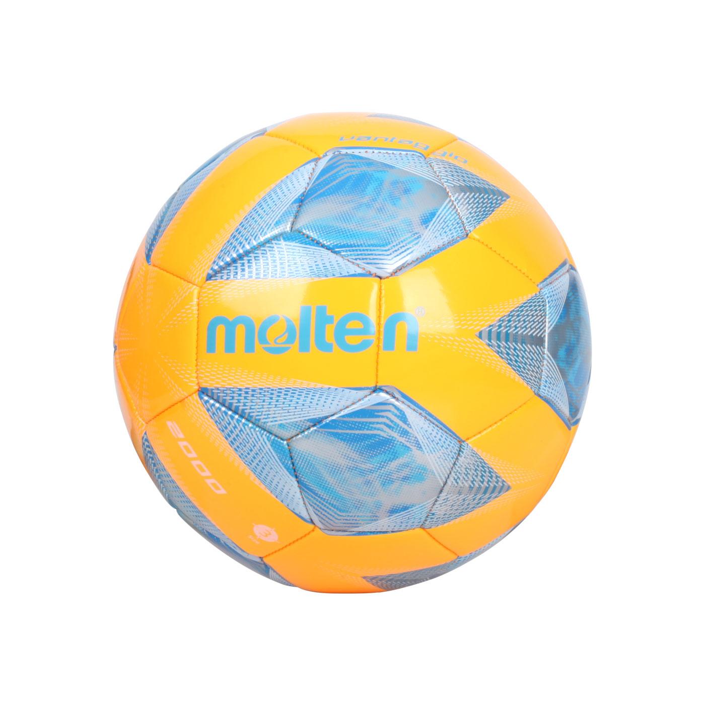 Molten #3合成皮足球 F3A2000 - 橘藍銀