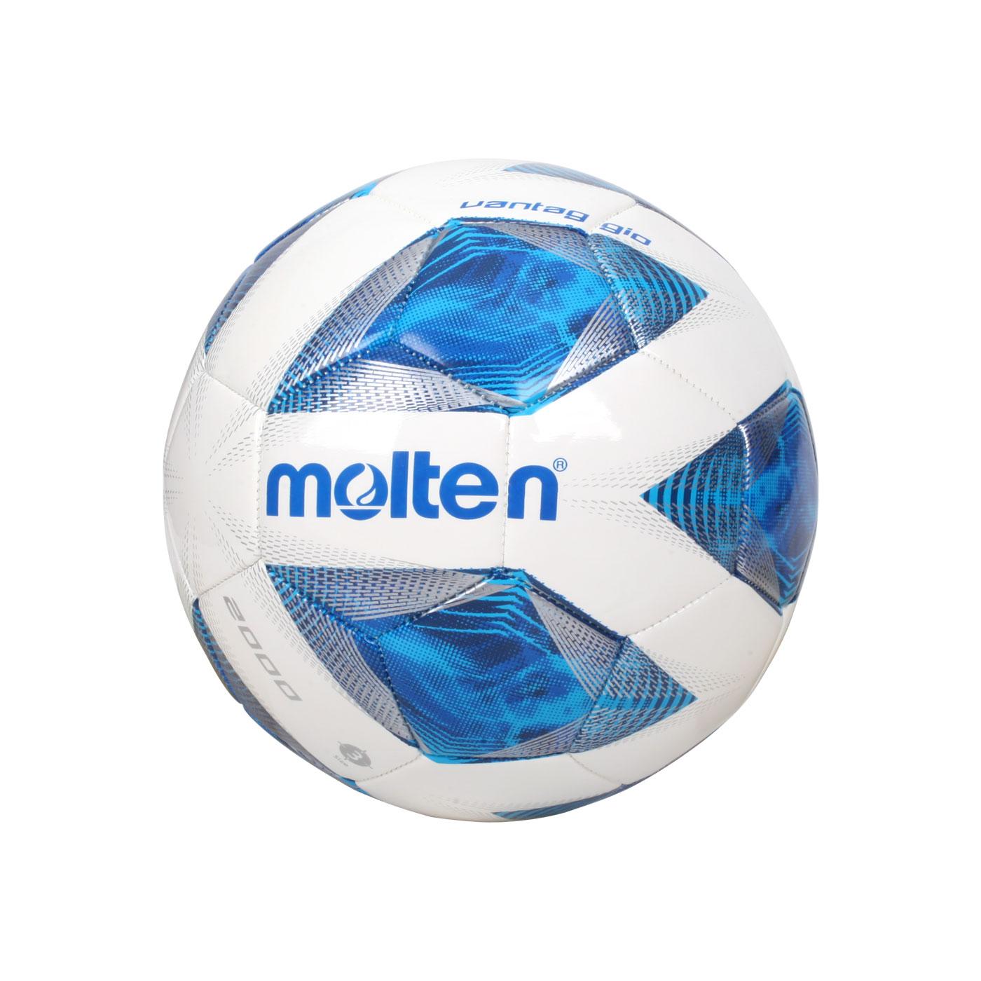 Molten #3合成皮足球 F3A2000 - 白藍銀