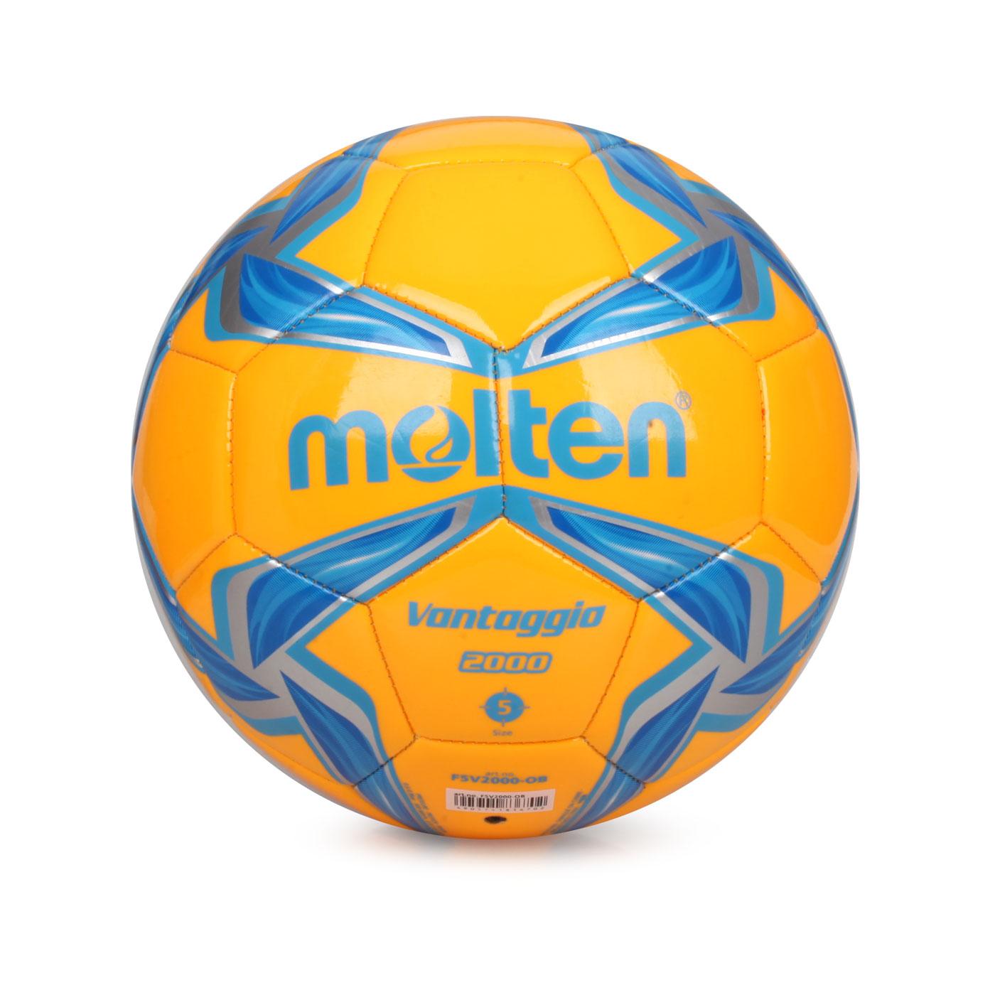 Molten #5合成皮足球 F5V2000-OB - 橘藍