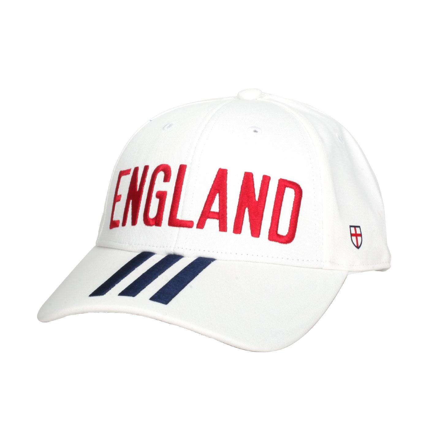 ADIDAS 足球運動帽 FJ0997 - 白紅丈青