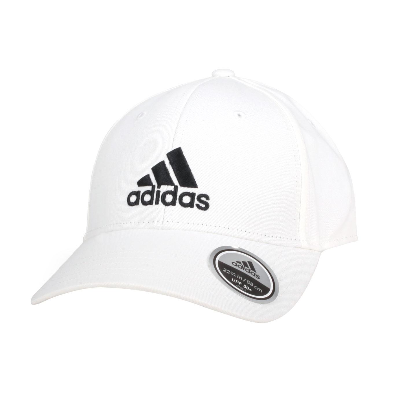 ADIDAS 運動帽 FK0890 - 白黑