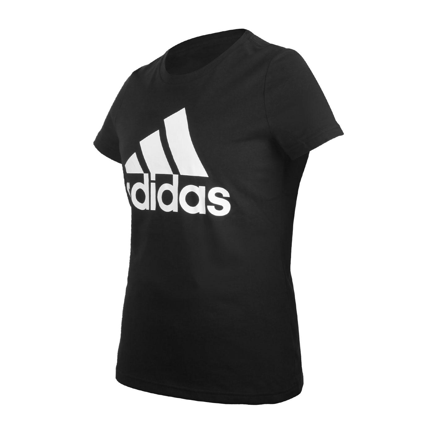 ADIDAS 女款短袖T恤 FQ3237 - 黑白