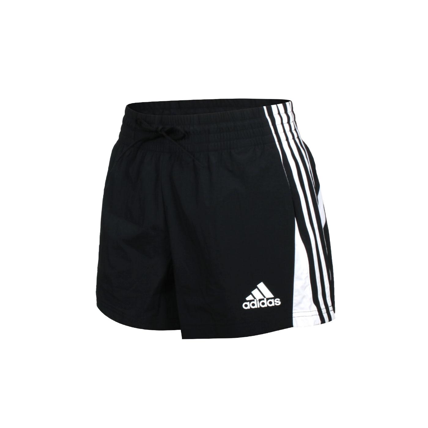 ADIDAS 女款運動短褲 FS6154 - 黑白