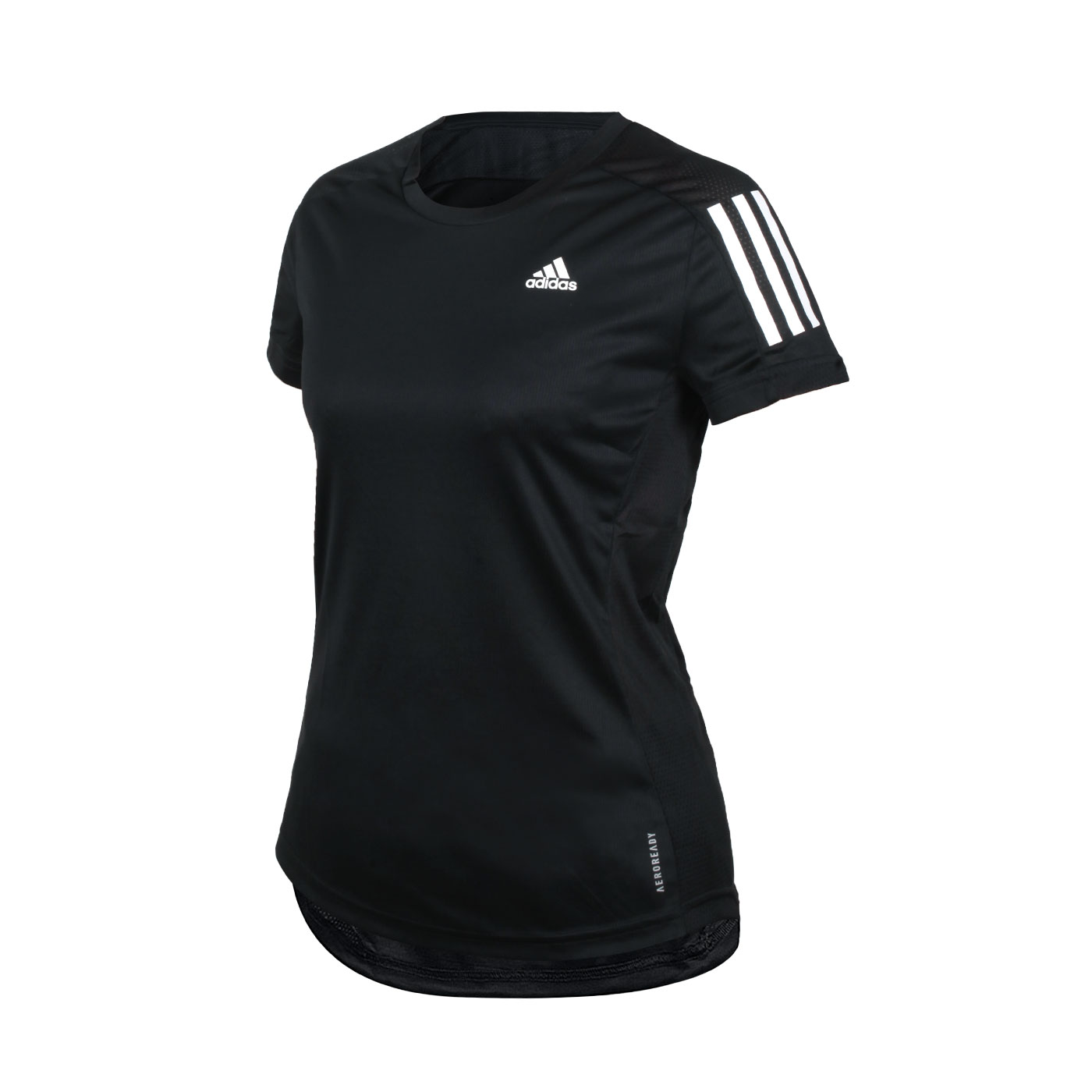 ADIDAS 女款短袖T恤 FS9830 - 黑白