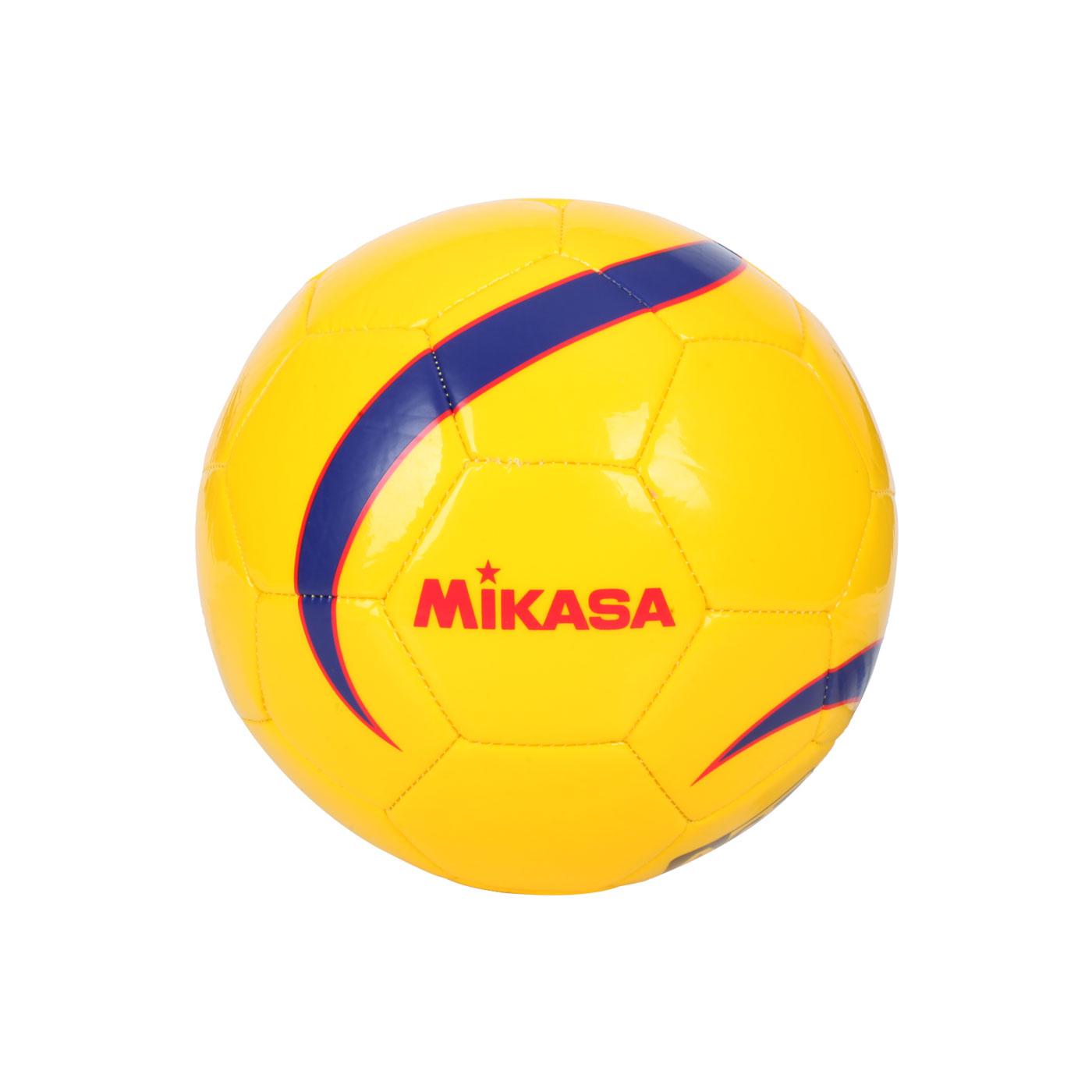 MIKASA 合成皮手縫5人制足球 FSC62Y - 黃紅藍