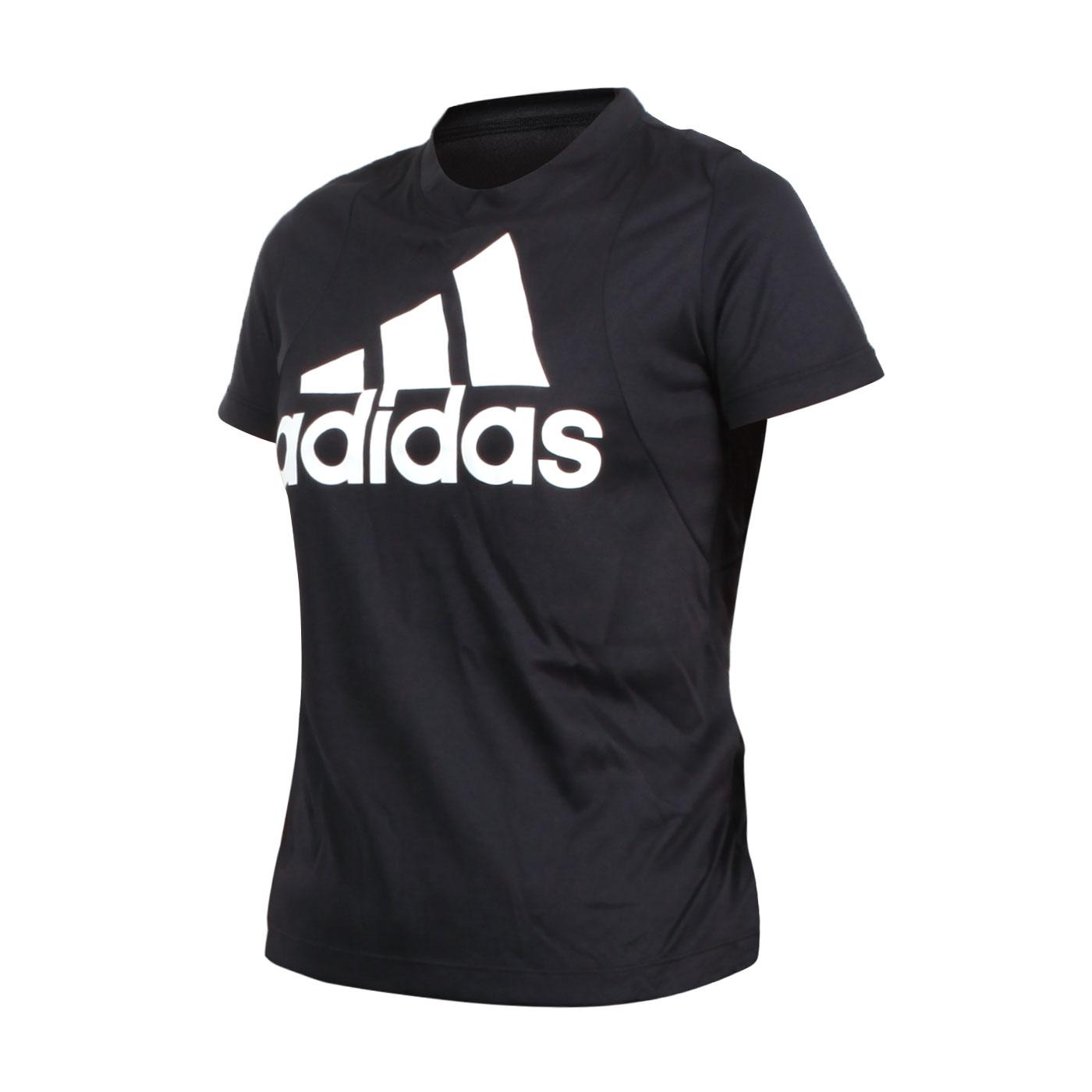 ADIDAS 女款短袖圓領T恤 FT3078 - 黑白