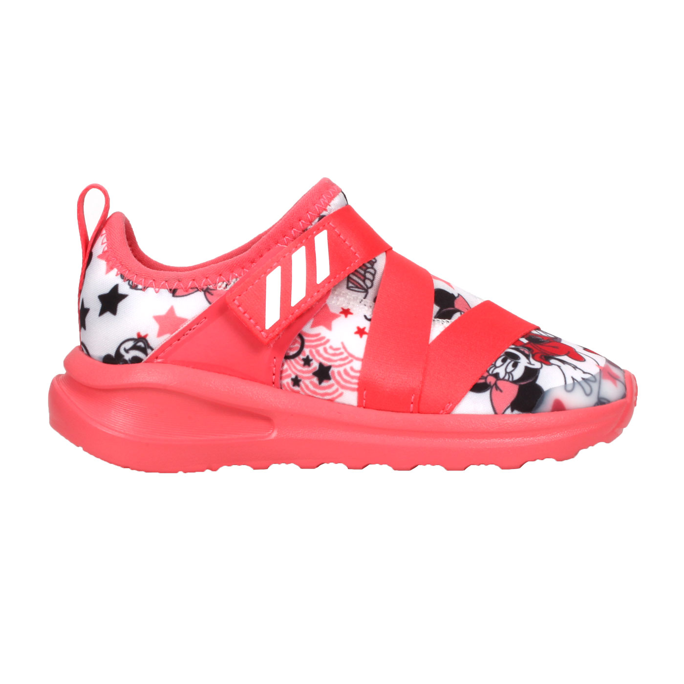 ADIDAS 小童休閒運動鞋  @FortaRun X Minnie I@FV4260 - 珊瑚紅白黑