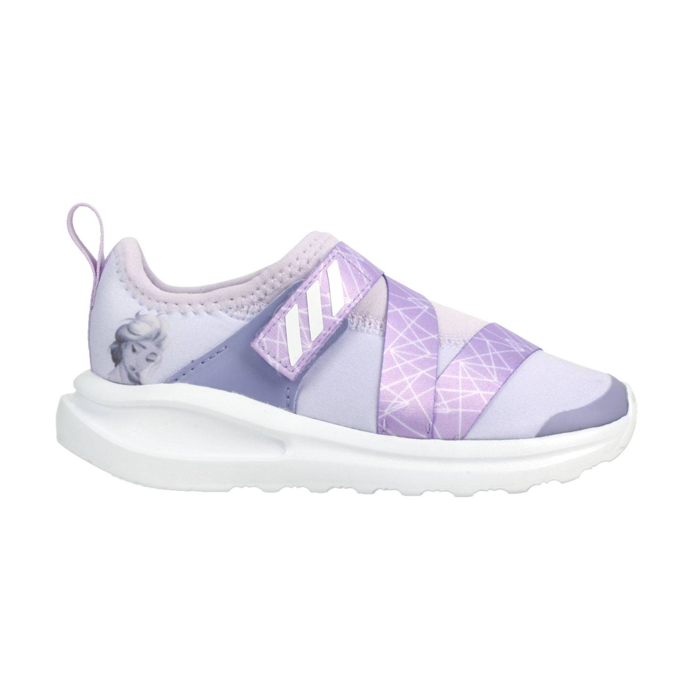 ADIDAS 小童休閒運動鞋  @FortaRun X Frozen I@FV4262 - 粉紫白