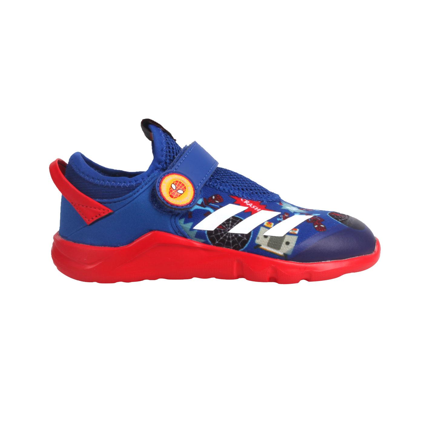 ADIDAS 小童休閒運動鞋  @ActiveFlex Spider-M AC I@FV4265 - 藍紅白