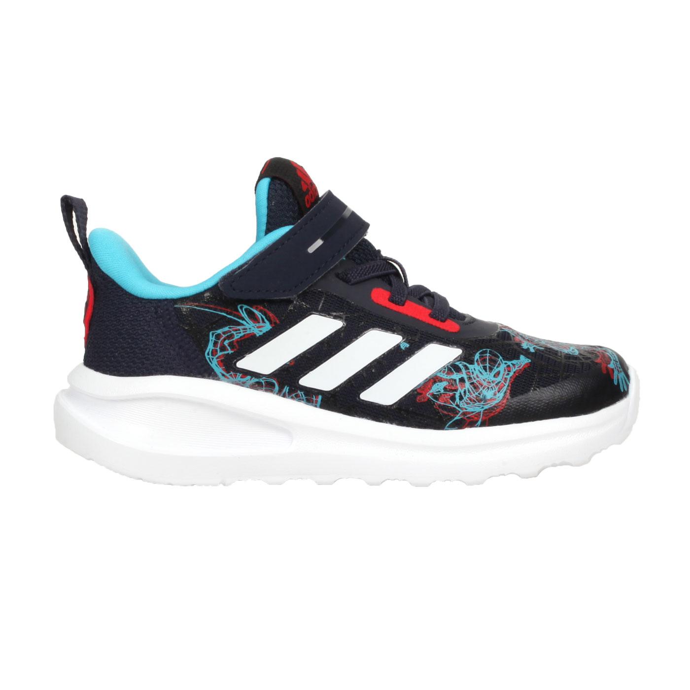 ADIDAS 小童休閒鞋  @FortaRun Spider-M EL I@FV4267 - 丈青藍紅