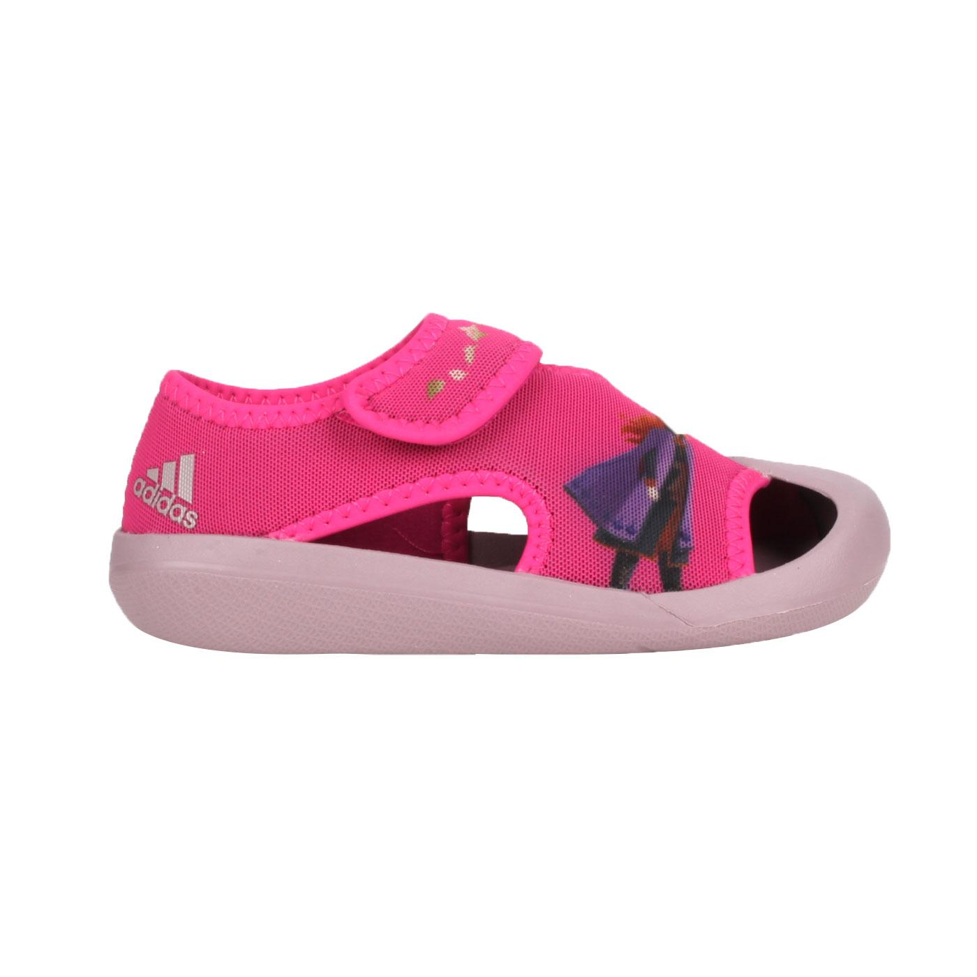 ADIDAS 小童冰雪奇緣涼鞋 FV4652 - 桃紅紫