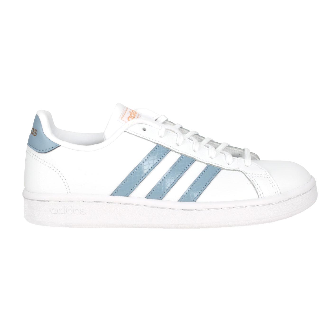 ADIDAS 女款運動休閒鞋  @GRAND COURT@FW2686 - 白粉藍