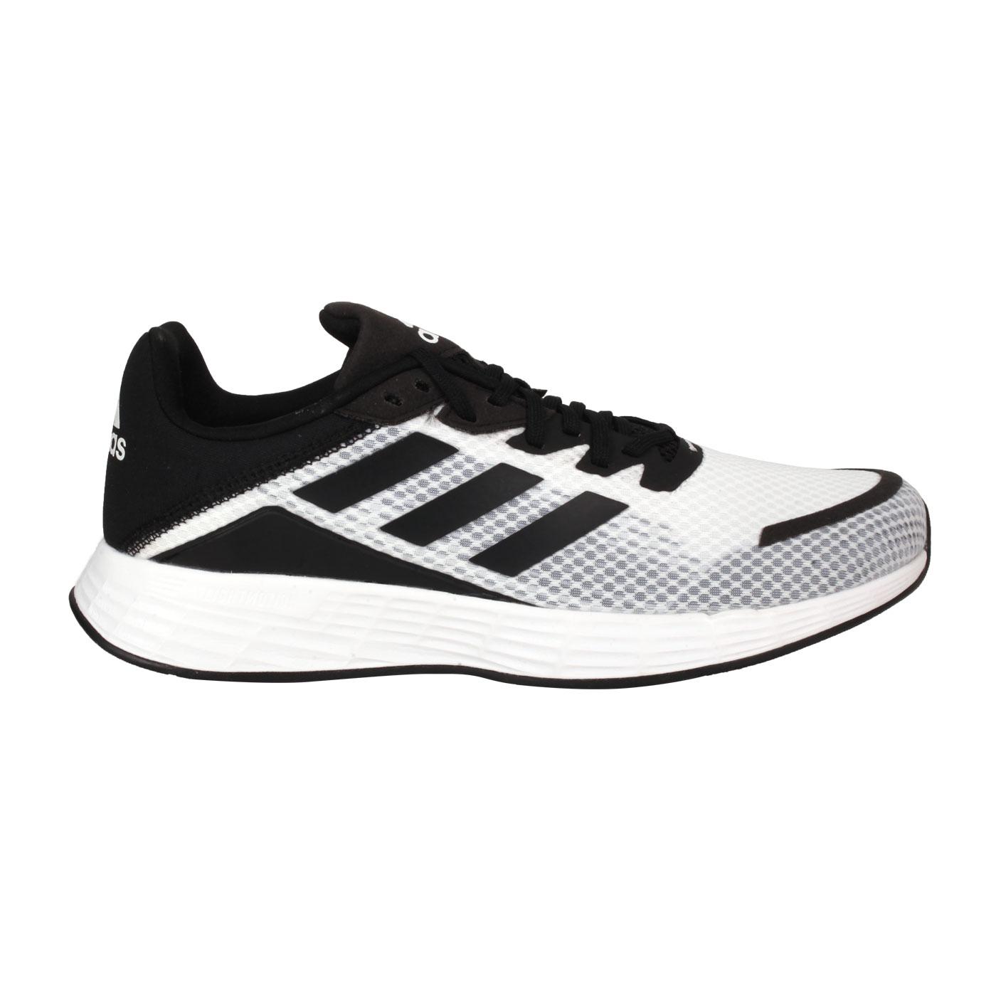 ADIDAS 男款休閒運動鞋  @DURAMO SL@FW7103 - 黑白