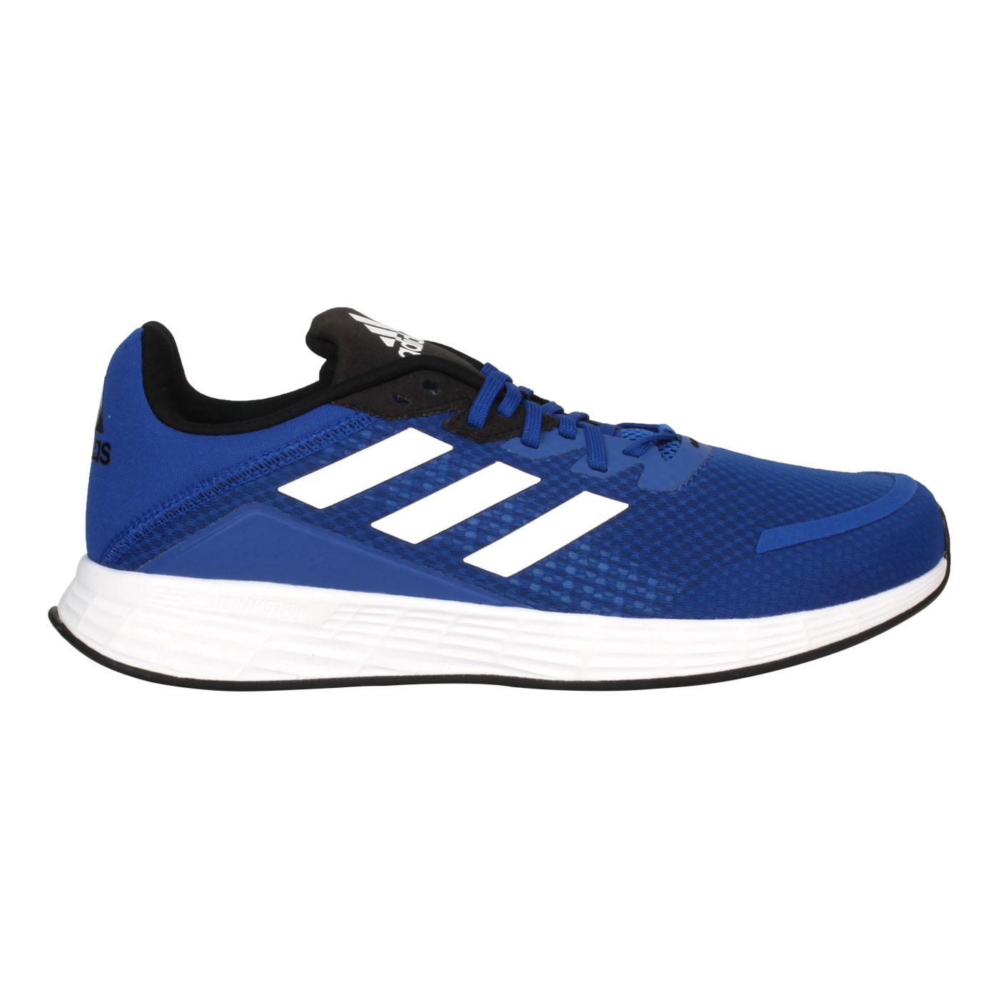 ADIDAS 男款慢跑鞋  @DURAMO SL@FW8678 - 藍白