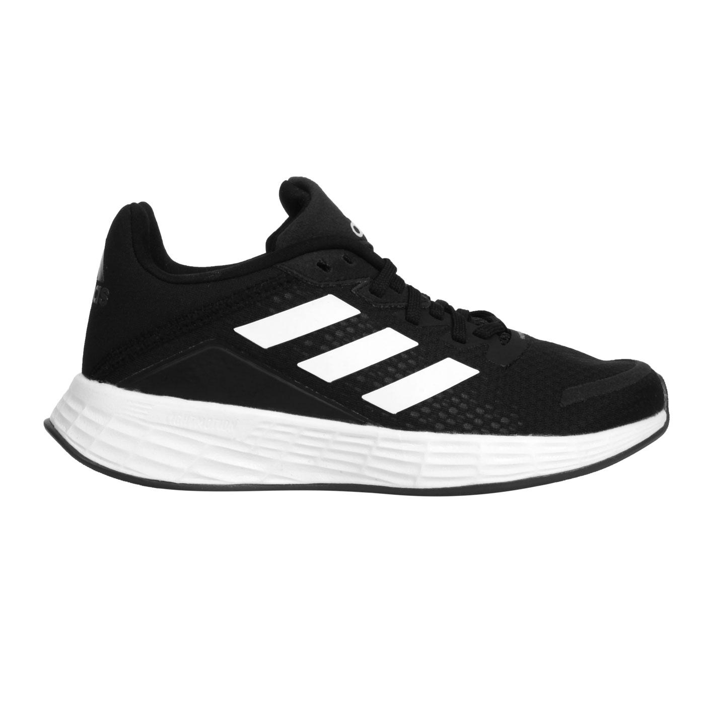 ADIDAS 大童慢跑鞋  @DURAMO SL K@FX7307 - 黑白