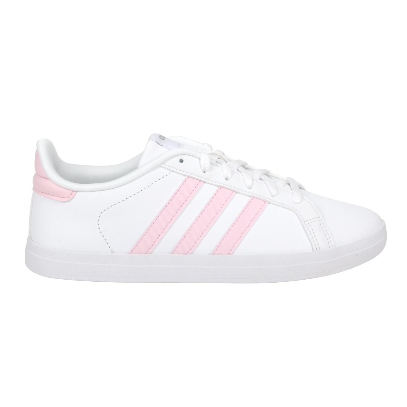 ADIDAS 女款休閒鞋 FY6950 - 白粉