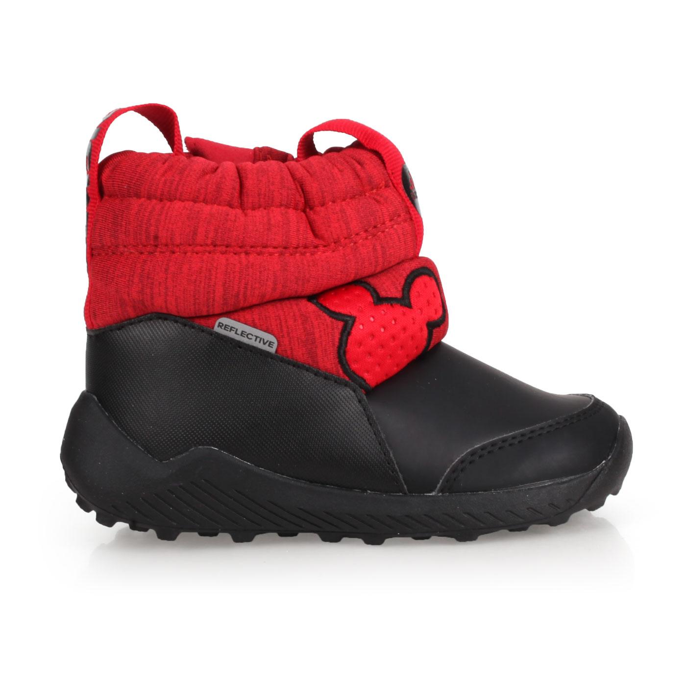 ADIDAS 小童保暖短筒靴  @RapidaSnow Mickey I@G27540 - 黑紅