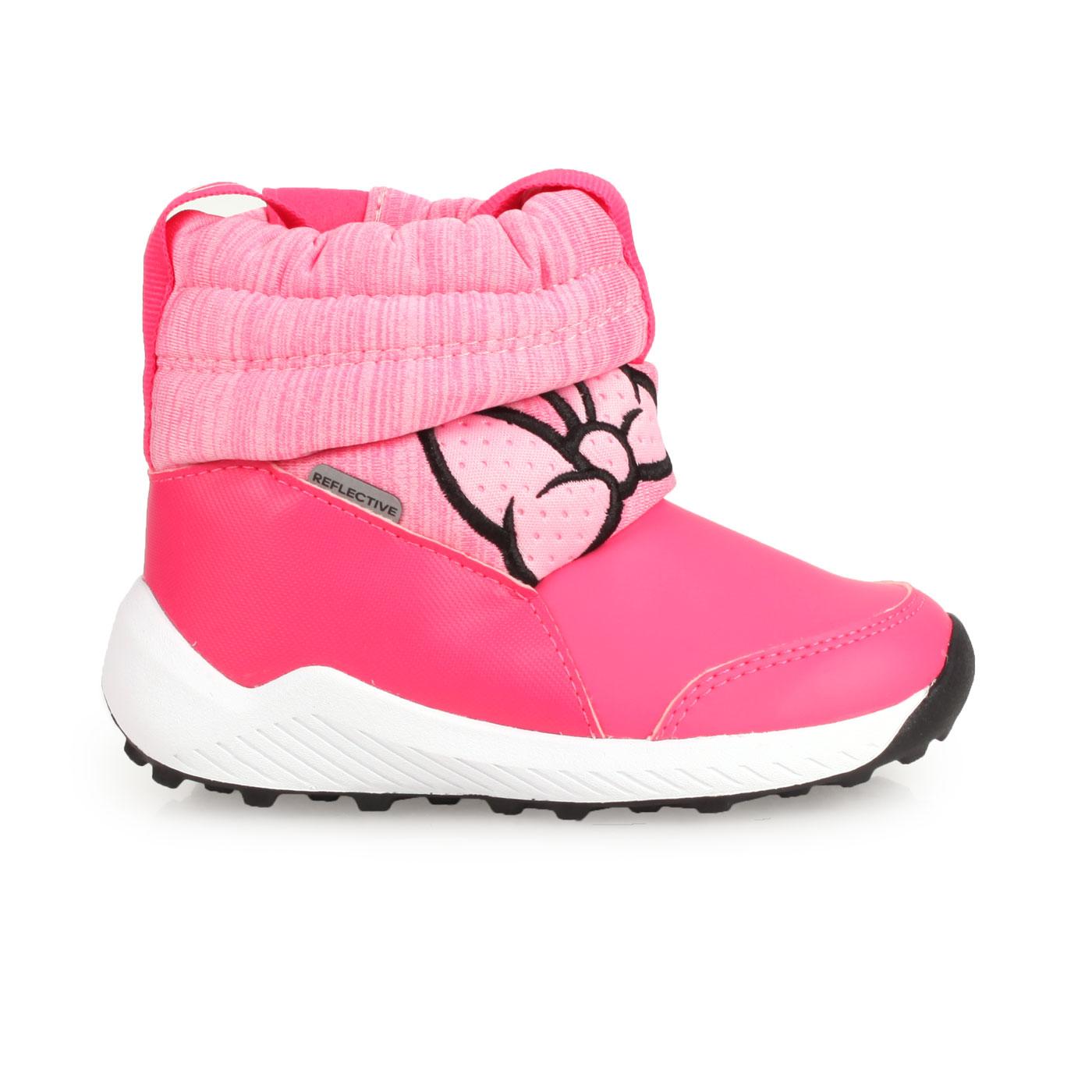 ADIDAS 小童保暖短筒靴  @RapidaSnow Minnie I@G27543 - 桃紅粉黑