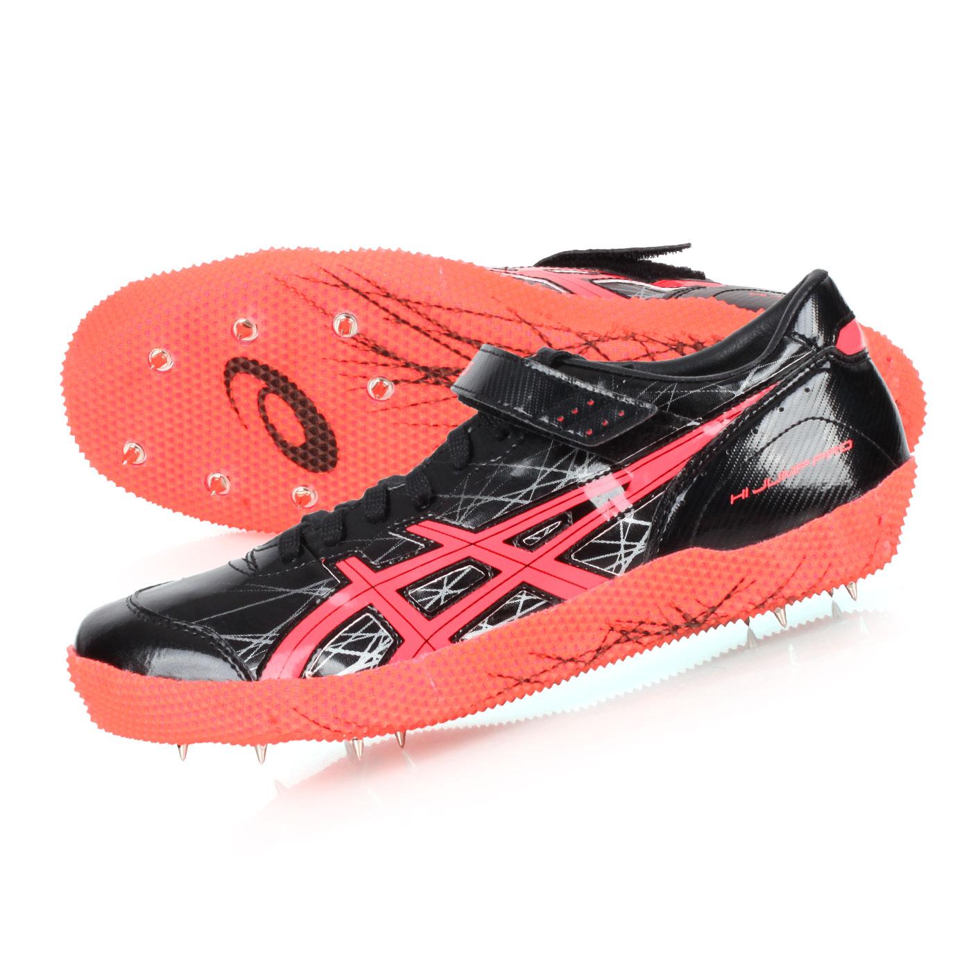 ASICS 田徑釘鞋(跳高左跳)  @HI JUMP PRO(L)@G608Y-9006 - 黑橘