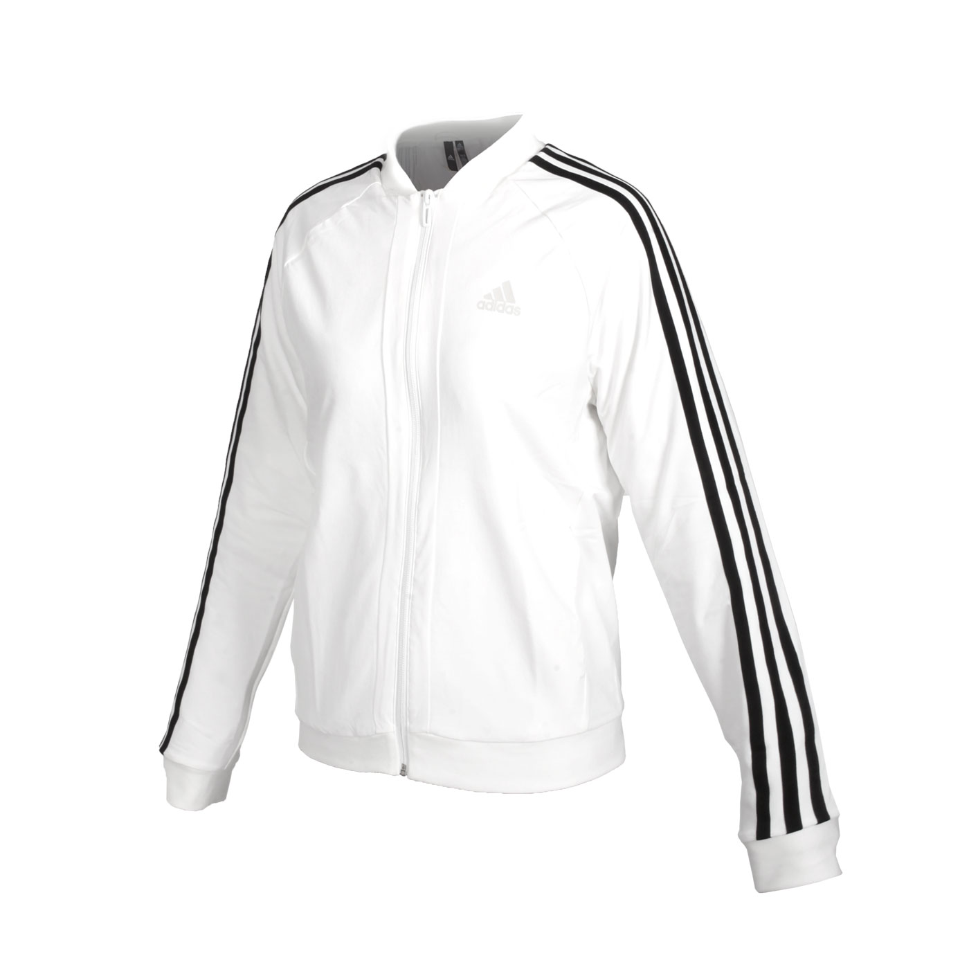 ADIDAS 女款運動外套 GF0182 - 白黑
