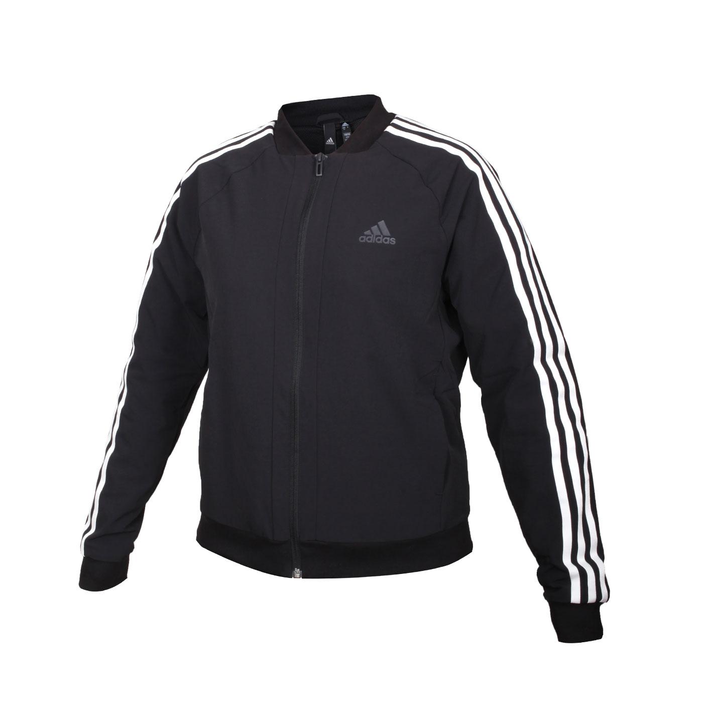 ADIDAS 女款運動外套 GF0189 - 黑白