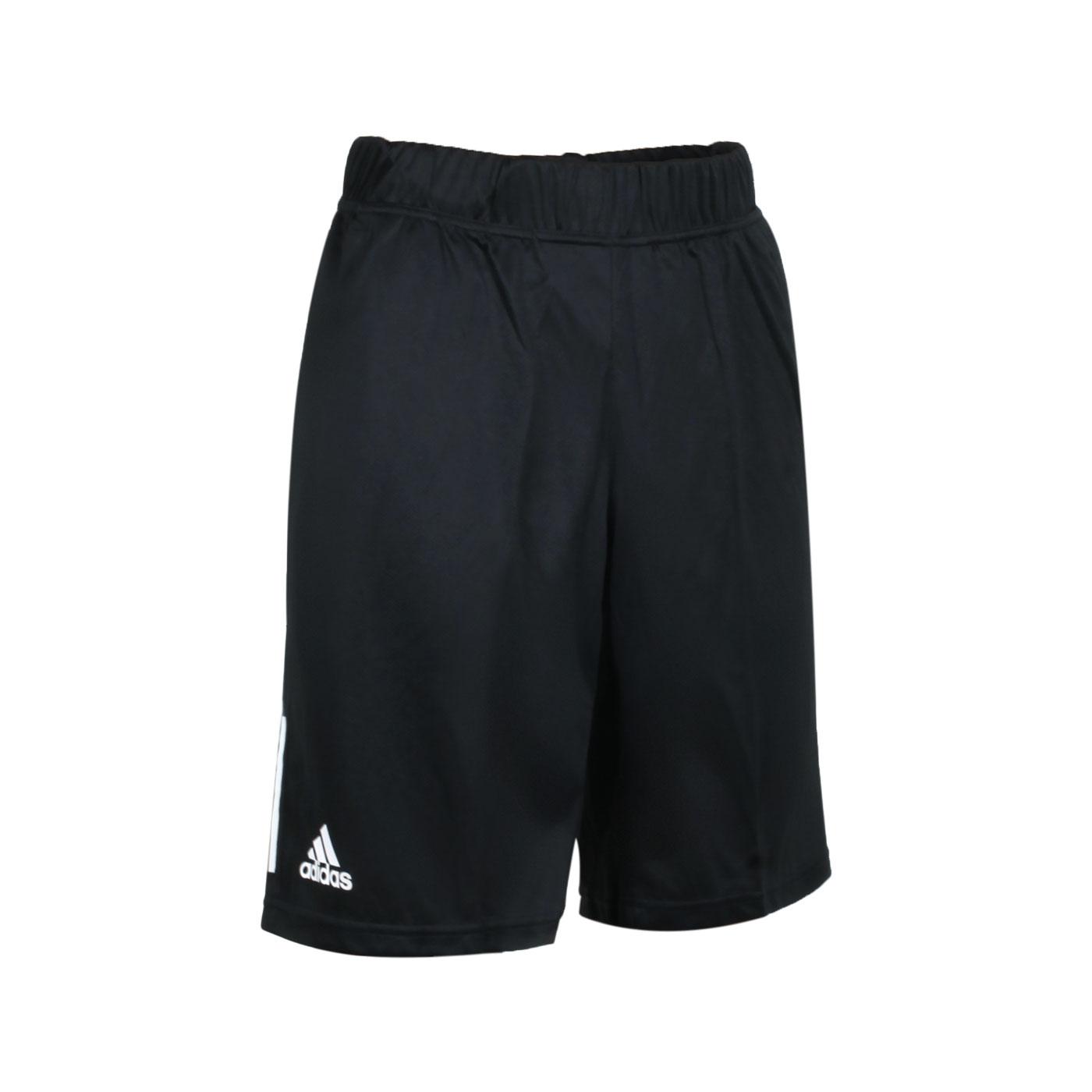 ADIDAS 男款運動短褲 GH7672 - 黑白
