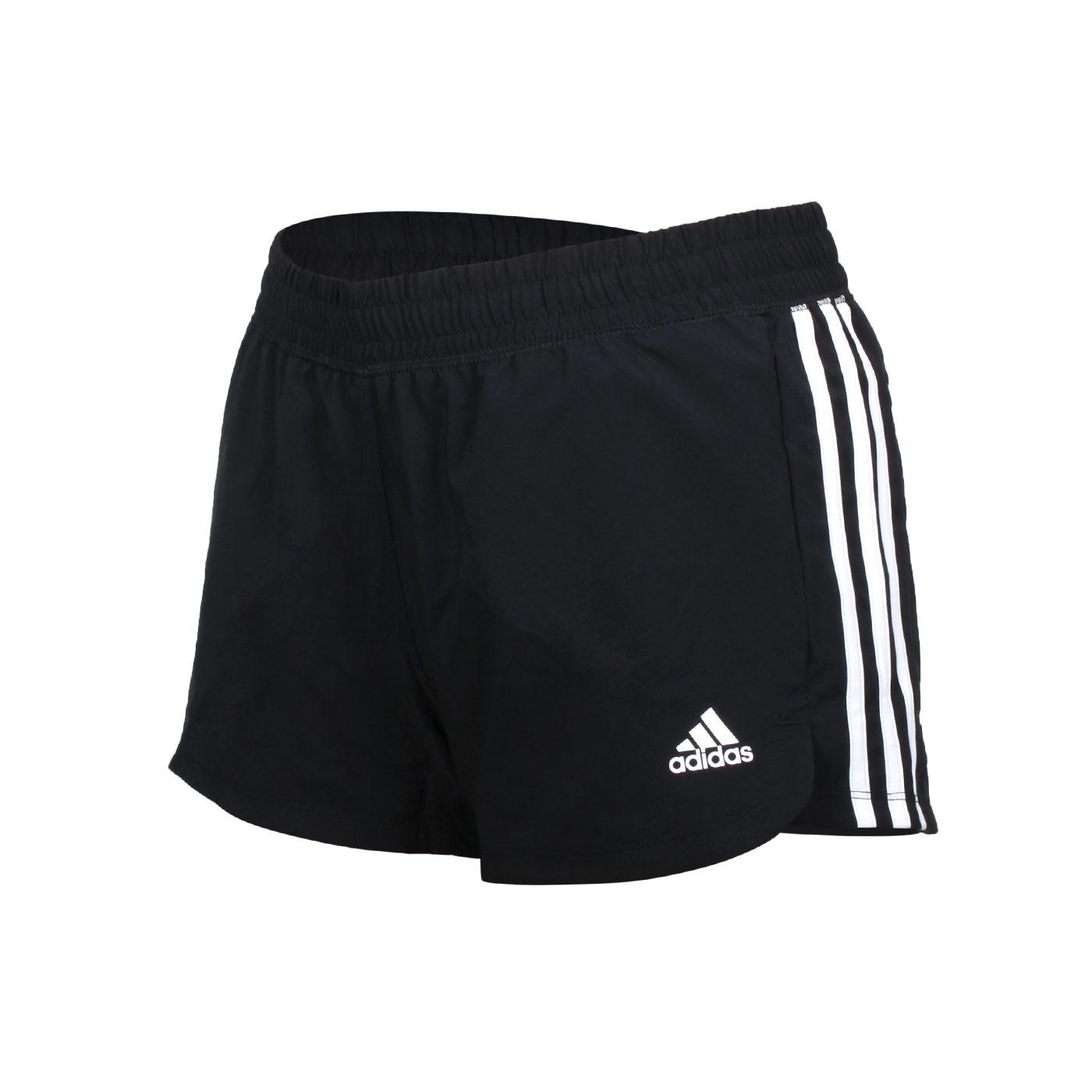 ADIDAS 女款運動短褲 GH8146 - 黑白