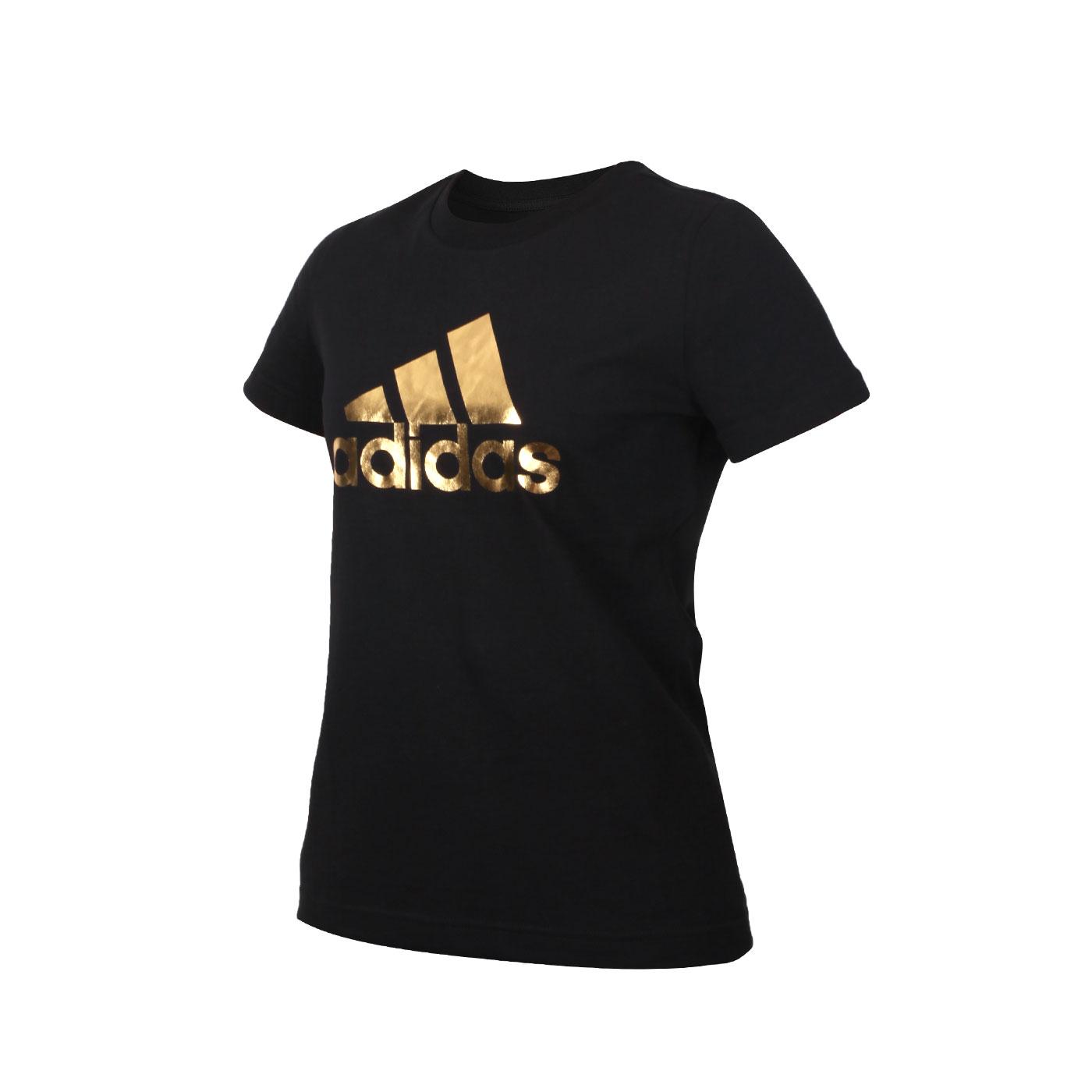 ADIDAS 女款短袖T恤 GI4768 - 黑金